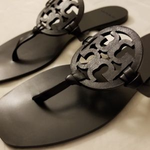 c6d414472 Tory Burch Shoes - Tory Burch Square-Toe Miller Thong Sandals - NWOB